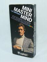 Mini MASTER MIND Le cerveau Capiepa sans notice Jeu de société 660875 vintage