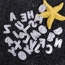 Metal Alphabet Letter A-Z Cutting Dies Stencil Scrapbooking Paper Card DIY Craft