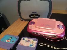 V Smile Cyber Pocket Console, Games And Bag, Preowned