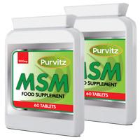 Msm ( Sulphur ) 1000mg X 120  Health Supplement Nails Teeth Hair Skin UK