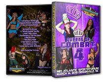 Queens of Combat 4 DVD, Havok, Mia Yim Divas Knockouts WWE ROH TNA WSU CZW PWG