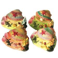 Almeja Concha De Acción Aire Colorido Niños Ornamento de acuario para Tanques de Peces MS200