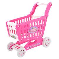 Bambini Carrello Spesa Cart Gioco di Ruolo Giocattolo Mini Handcart Imitazione