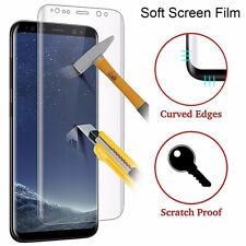 Samsung Galaxy S8, S9 Screen Protector Tpu Film full Cover Curve Genuine Clear