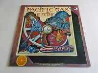 Pacific Gas & Electric Get It On Blues LP 1968 Bright Orange Vinyl Record