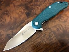 Steel Will Knives MODUS F25-12 - D2 Satin - FRN Green - Authorized Dealer
