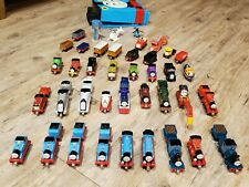 Huge Thomas the Train Diecast metal lot 50+ Engines cars and vehicles, case etc
