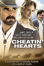 Cheatin Hearts (DVD) James Brolin/Kris Kristofferson - NEW, Free Shipping