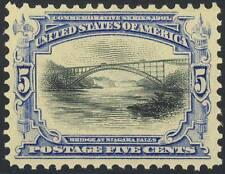 297, Mint 5c Xf Og Nh Gem - Po Fresh Stamp