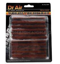 Tyre Repair Plugs 30 Piece Pack Tubeless & Radial Puncture Repairs Dr Air TG47