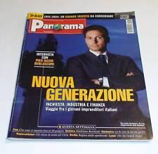 RIVISTA PANORAMA 3 GIUGNO 2004-23 1989-BERLUSCONI-BERTINOTTI-D-DAY-UMTS-SICILIA