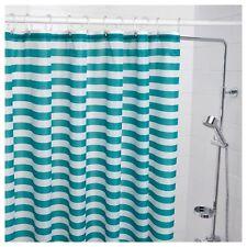 IKEA New Shower curtain VADSJÖN Turquoise 180x180 cm VADSJON