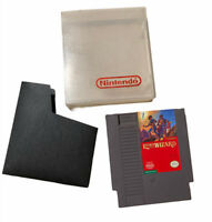 Nintendo NES Legacy of the Wizard Video Game Cartridge Cart Authentic Tested