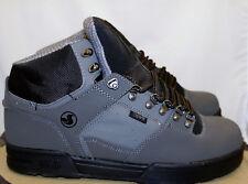 DVS Westridge Snow Black Grey Nubuck Size 12 Boot WR Shoes Skate Sneaker