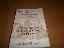 catalogue général des monographies des villes et villages de France 2011 (28)