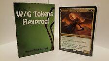 MTG Standard  & Theme Decks - G/W Tokens Hexproof  Magic the Gathering