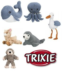Trixie Dog Teddy Toy Plush Squeaky Sound Soft Toys for dogs