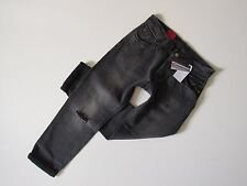 NWT Levi's 501 CT in Grey Tumble Destroyed Selvedge Boyfriend Crop Jeans 29