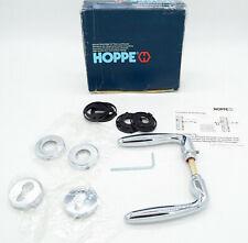 Hoppe Verona Drucker mit Rosetten PZ TS: 37-42 mm Zimmertür Garnitur chrom Luxus
