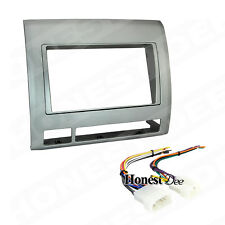 95-8214TG Double Din Radio Install Dash Kit & Wires for Tacoma, Car Stereo Mount
