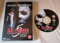 DVD - Halloween 5 The Revenge Of Michael Myers DVD Donald Pleasence PAL R2 UK