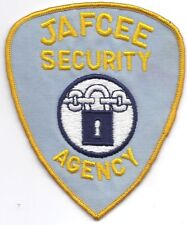 **WASHINGTON JAFCEE SECURITY AGENCY POLICE PATCH**