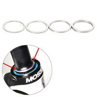 4pcs Bicycle Bike 0.3/1/2/3mm Headset Fork Washer Dust Cover Fine Spacer Gap