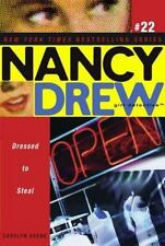 NANCY DREW 22: DRESSED TO ST, , Good Condition, Book