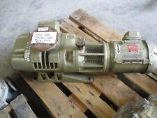 Leybold Ruvac Wau250 Vacuum Pump With 15hp Motor 327120t Rebuilt