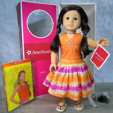 NEW American Girl JESS DOLL In MEET OUTFIT GOTY 2006 Shoes Book Wrist Tag AG BOX