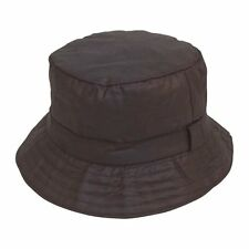 Wax Cotton Bucket Hat  Black Size 59cm L NEW see all wax cap & hats