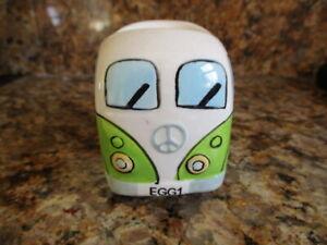 VW Campervan China Egg Cup / Green