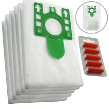 5 x U Type Hyclean Vacuum Cleaner Bags For MIELE Hoover Dust Bag S7580 + Fresh