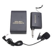 et récepteur fm microphone sans fil système de pince micro lavalier revers