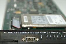 8 Port Mitel Express Messenger Upgraded 4 Port Voice Mail 9109-080-008-NA VM AA