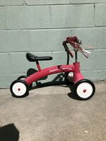 Vintage Radio Flyer 4 Wheel Scooter Tricycle Ride On Toy Free Shipping
