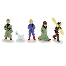 Mini Collectible figure set Tintin in the land of soviets MOULINSART NEW