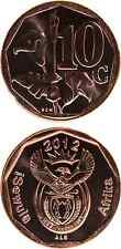 SÜDAFRIKA/SOUTH AFRICA/ISEWULA AFRIKA 10 Cents 2012 UNC new/copper plated steel