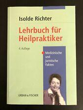 Isolde Richter - Lehrbuch für Heilpraktiker - Paperback - 4. Auflage