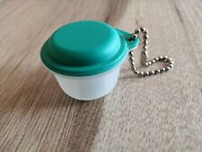 Tupperware Schlüsselanhänger Miniatur Frische Pavillon klar / grün
