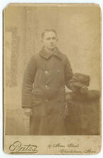 VINTAGE RARE STREETCAR RAIL OCCUPATIONAL:Conductor of the 1584! Cabinet Card