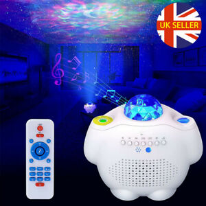 LED Galaxy Projector Lamp Starry Sky Night Light Ocean Star Party Remote Control