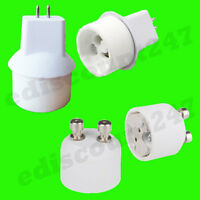 GU10 To MR16 GU5.3 OR MR16 To GU10 Light Bulb Lamp Holder Adaptor Converter UK