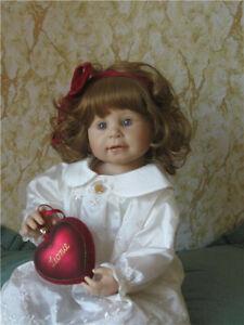 LEONIE BY BETTINE KLEMM, ZAPF Creation, Year 2000 With Christmas Ornament