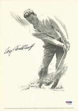 Cary Middlecoff Signed 8x11 Photo PSA/DNA COA PGA Lithograph Picture Autograph