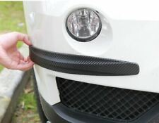 2x Carbon Fiber Pattern Front Rear Bumper Corner Protection Lip Guards Scratch