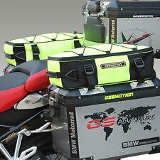 Zusatztaschen-GELB- Alukoffer R1200GS LC Adventure,Additional bags LC ADV