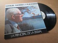 MANUEL SADERRA I PUIGFERRER sardanes CATALONIA / CATALAN - SPANISH Lp 1987