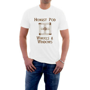 Hengist Pod Wheels and Windows T-shirt Carry On Cleo Romans Tee from Sillytees