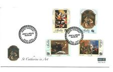 Malta ( St. Catherine in Art ) 2005 Set of 4 Stamps on First Day Cover